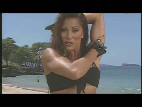 Kiana's Flex Appeal Home Gym Workout on the Beach