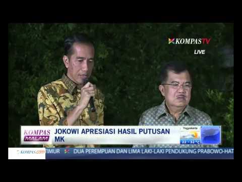 Jokowi-JK Apresiasi Putusan MK - Kompas Malam 21 Agustus 2014