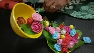 illusion cup and flower creation