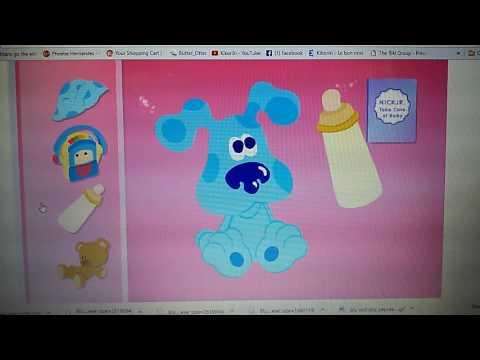 Nick jr: take care of baby Blue
