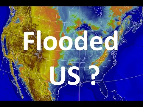 Where US Would Be Flooded If A Pole Shift Reaches [IGEO.TV]