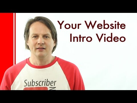 How to make an intro video for your website