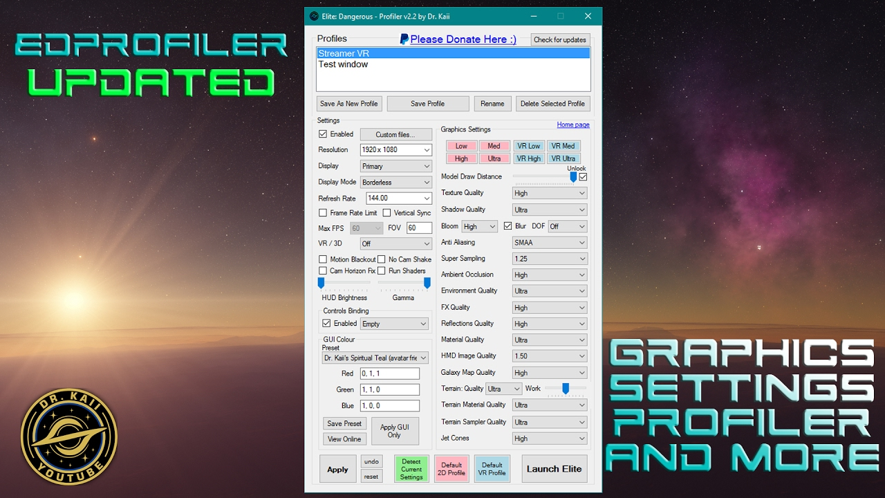 EDProfiler - A New Display Switcher/Robust Settings Profiler