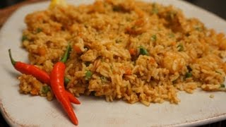 Shrimp Fried Rice Recipe how to cook great Asian Prawn food stir fry wok