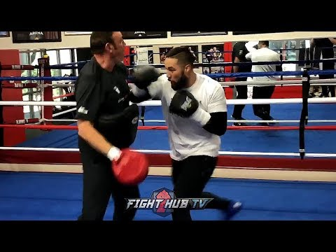 SPEED IS POWER! JOSEPH PARKER SHOWING FAST HANDS ON THE MITTS PREPARING FOR ANTHONY JOSHUA!