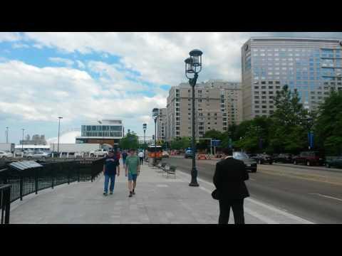 Seaport harbor Boston