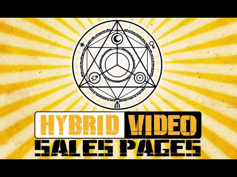 Hybrid Sales Page Title Animation