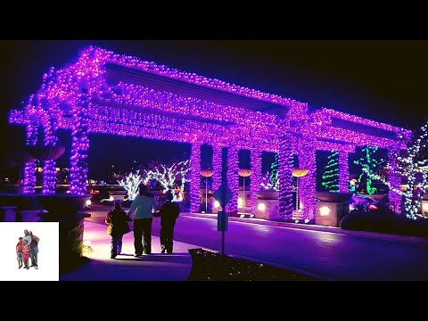 Scentsy Commons Christmas Lights Ceremony At Meridian, Idaho. 2019