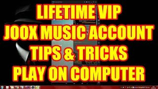 Joox Music - Lifetime VIP Member, Play in PC