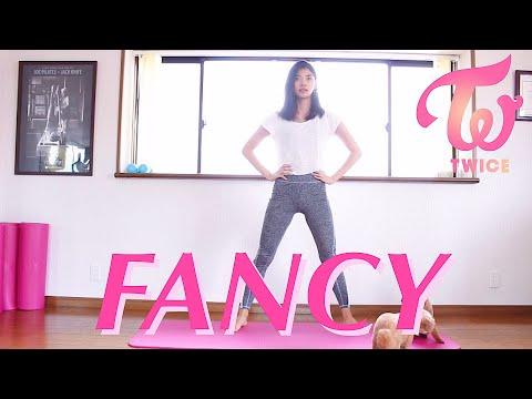 【K-POP筋トレ】初心者向け!腹筋、脂肪燃焼トレーニング TWICE「FANCY」 | K-POP WORKOUT
