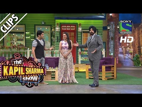 Kapil Welcomes Sania