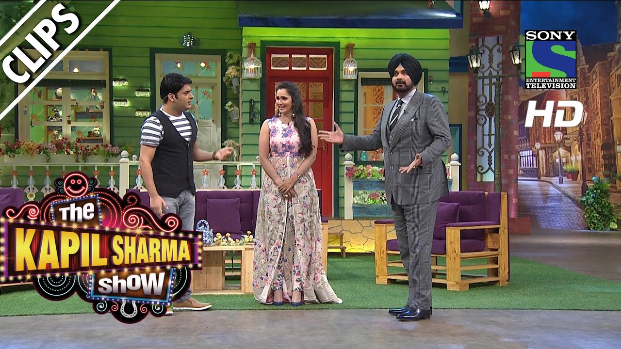 Kapil Welcomes Sania Mirza to the show - The Kapil Sharma Show - Episode 14  - 5th June 2016