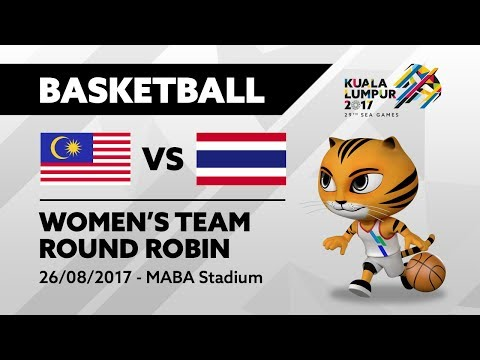 KL2017 29th SEA Games | Women's Basketball - MAS 🇲🇾 vs THA 🇹🇭 | 26/08/2017