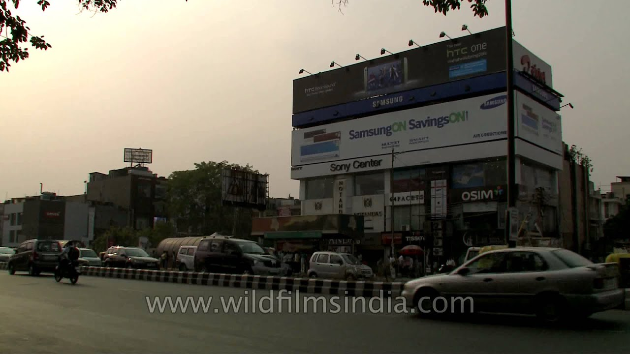Sony Center In South Ex Part 1 Delhi Youtube