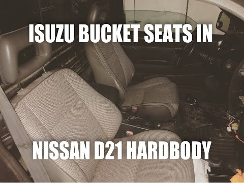 How to Install Isuzu Bucket Seats in Nissan D21 Hard Body