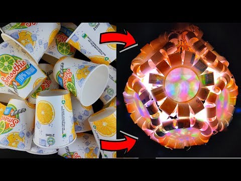 Paper cup lantern DIY -  Best out of waste project। Diwali decoration ideas.