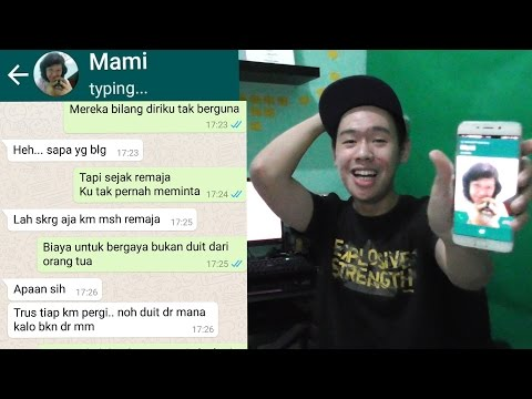 TEXT PRANK NYOKAP SAMPE DITELPON?! - Bad (Young Lex ft AwKarin)