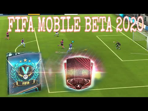 FIFA Mobile Beta 2020 Gameplay || Elite Player Packed || How To Download FIFA Mobile Beta