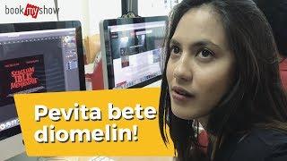 Pevita Pearce Satu Hari Menjadi Graphic Designer - BookMyShow Indonesia