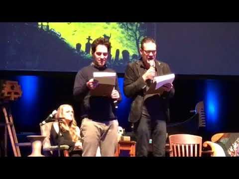 Ghost stories with Jeffrey Dean Morgan, Hilarie Burton and Paul Rudd