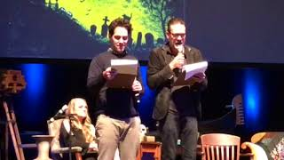 Ghost stories with Jeffrey Dean Morgan, Hilarie Burton and Paul Rudd