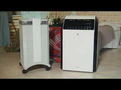 Обзор и тест очистителей воздуха Panasonic F-VXM80R-K и IQAir HealthPro 250