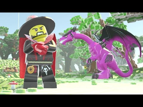 how to get dragons lego worlds