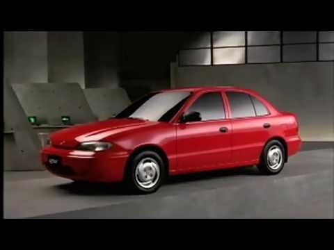Фото к видео: Hyundai Accent 1994 commercial