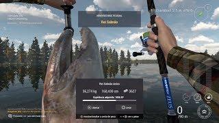 Fishing Planet Chinok Salmão Único 36,3 kg Alaska
