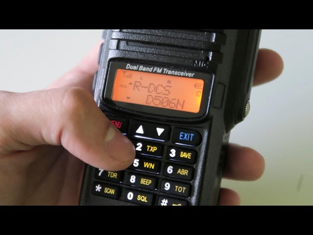 Avoid the UV-5R. Buy this instead!
