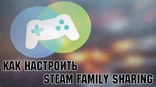 Гайд: КАК НАСТРОИТЬ Steam Family Sharing (Передаём Игры На Др. Аккаунт)