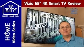 Review Vizio E-Series E65u D3 65 inch UHD 4K Smart TV Display with true  4k resolution