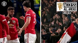 View from the Away End | Access All Areas | Chelsea 0-2 Manchester United