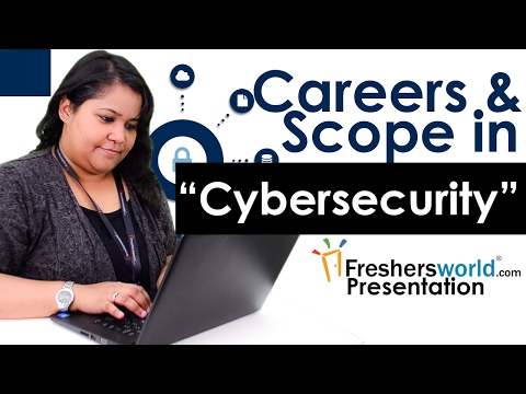 Careers and Scope for Cyber security  - Skills required, Top