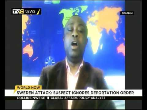 Collins Nweke Speaks on Uzbek Suspect in Stockholm attack