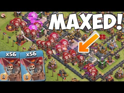 MAXED LOONS! ☆ Clash of Clans ☆ CoC