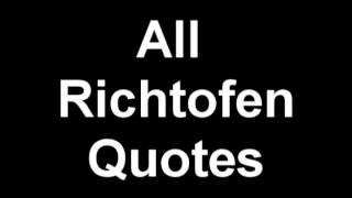 Black Ops 1: All Richtofen Quotes (Reupload)
