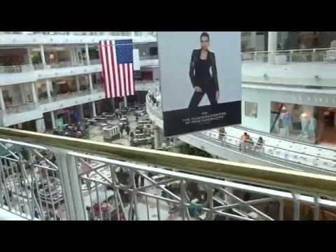 Aruna & Hari Sharma in Pentagon Mall, Pentagon City, Arlington VA, USA Jun 13, 2014