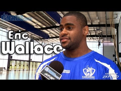 December 11, 2012 - Eric Wallace tries out