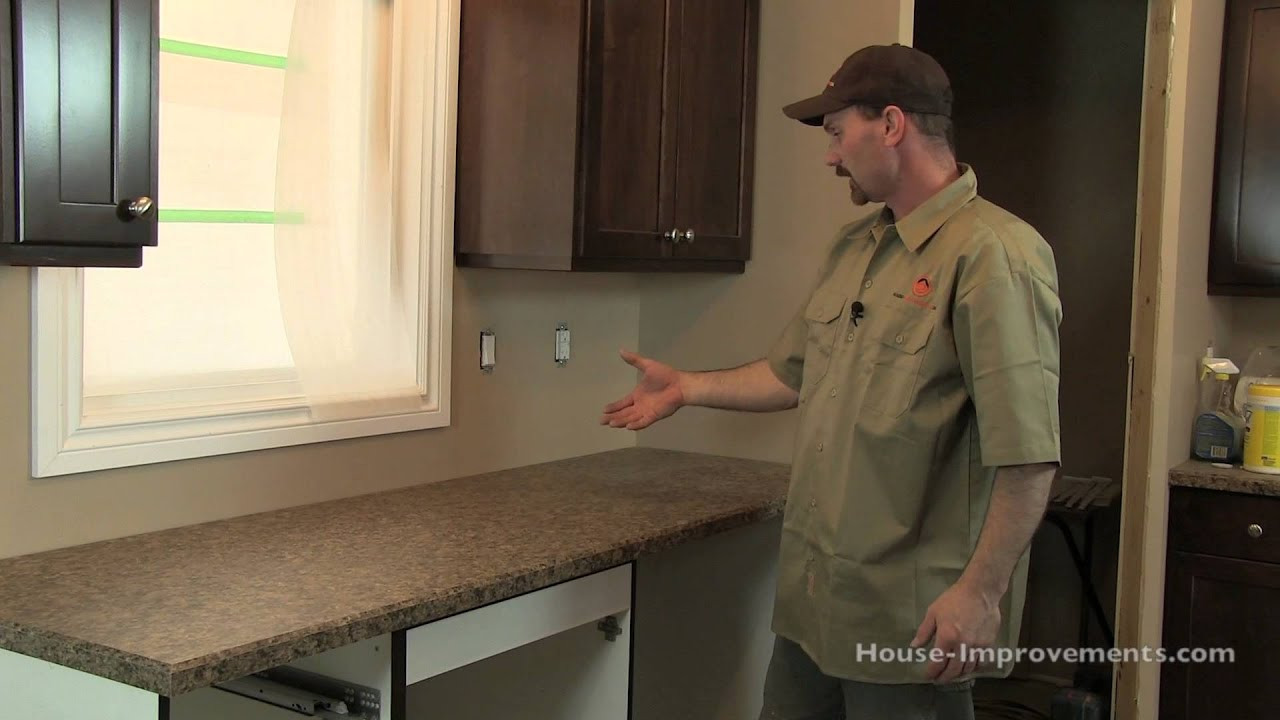 how to install a new countertop replacing kitchen countertops How To Install Kitchen Counter Tops You