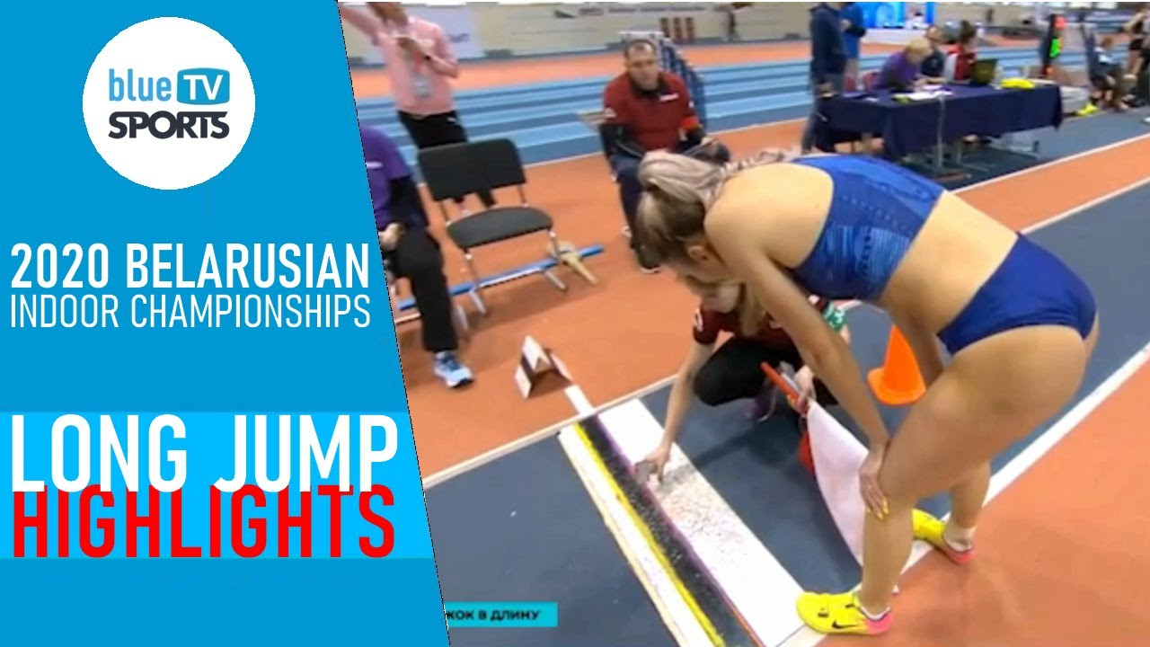 Long Jump Highlights • 2020 Belarusian Indoor Championships