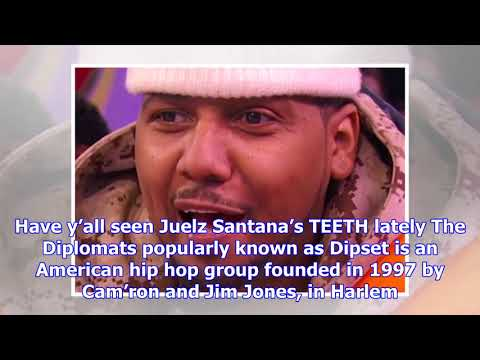 Exclusive photos: juelz santana is missing a bunch of teeth!!