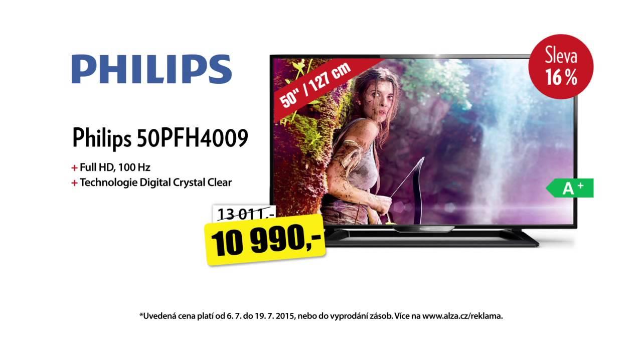 0fdc7f881 Když televize, tak Alza.cz - Philips 50PFH4009 za super cenu! - YouTube