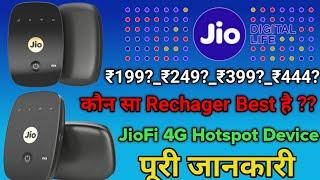 JioFi 4G Router Recharge | JioFi Best Data Recharge Plans Full Details | Jio Best Data Recharge Plan