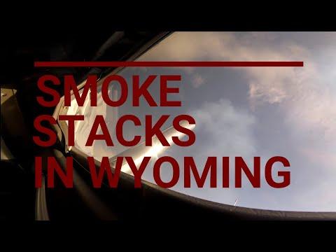 Smoke Stacks In Wyoming