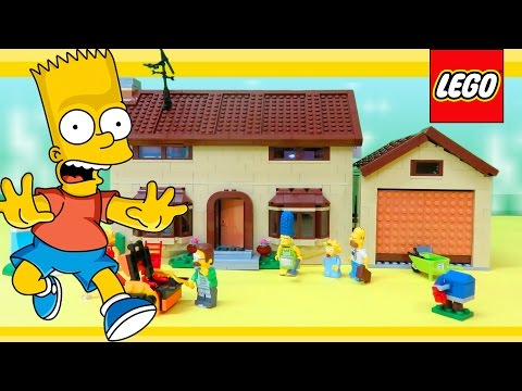 LEGO Simpsons 71006 The Simpsons House Review