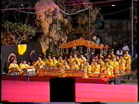 bali gamelan performance essay