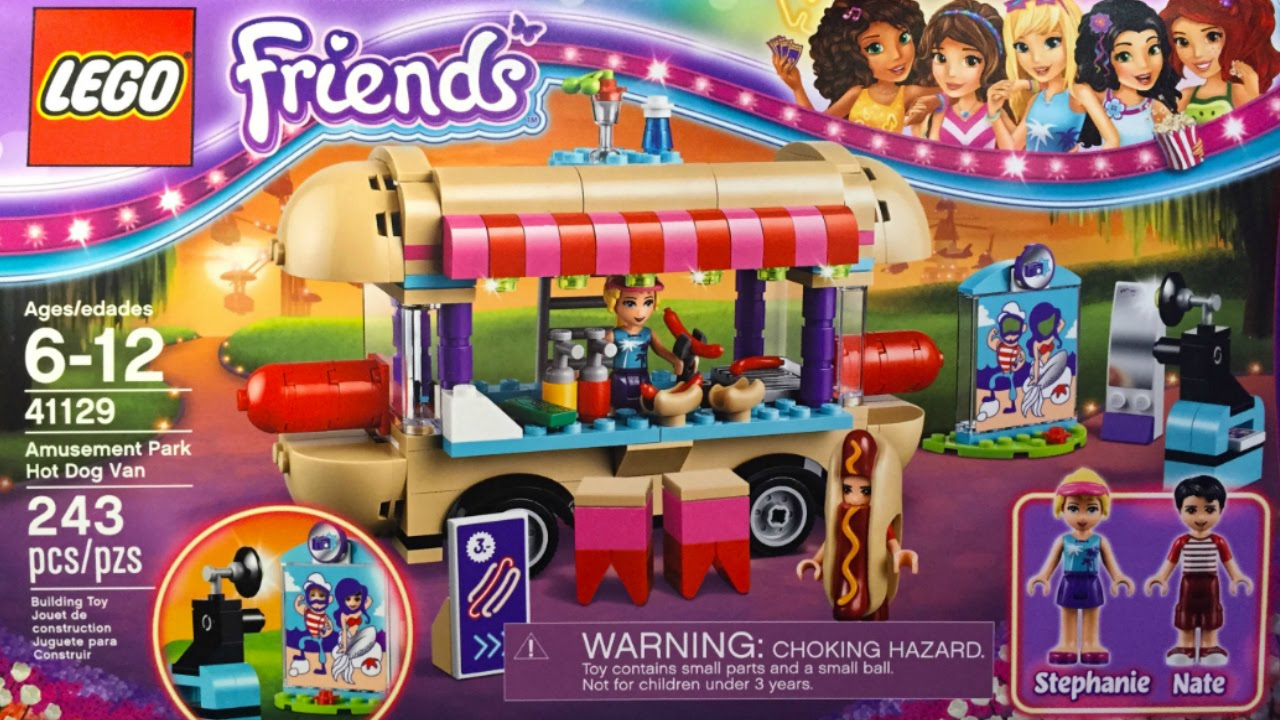 Exclusive New Lego Friends Summer 2016 Official Box