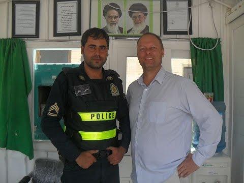 Travel Professor in Isfahan, Iran