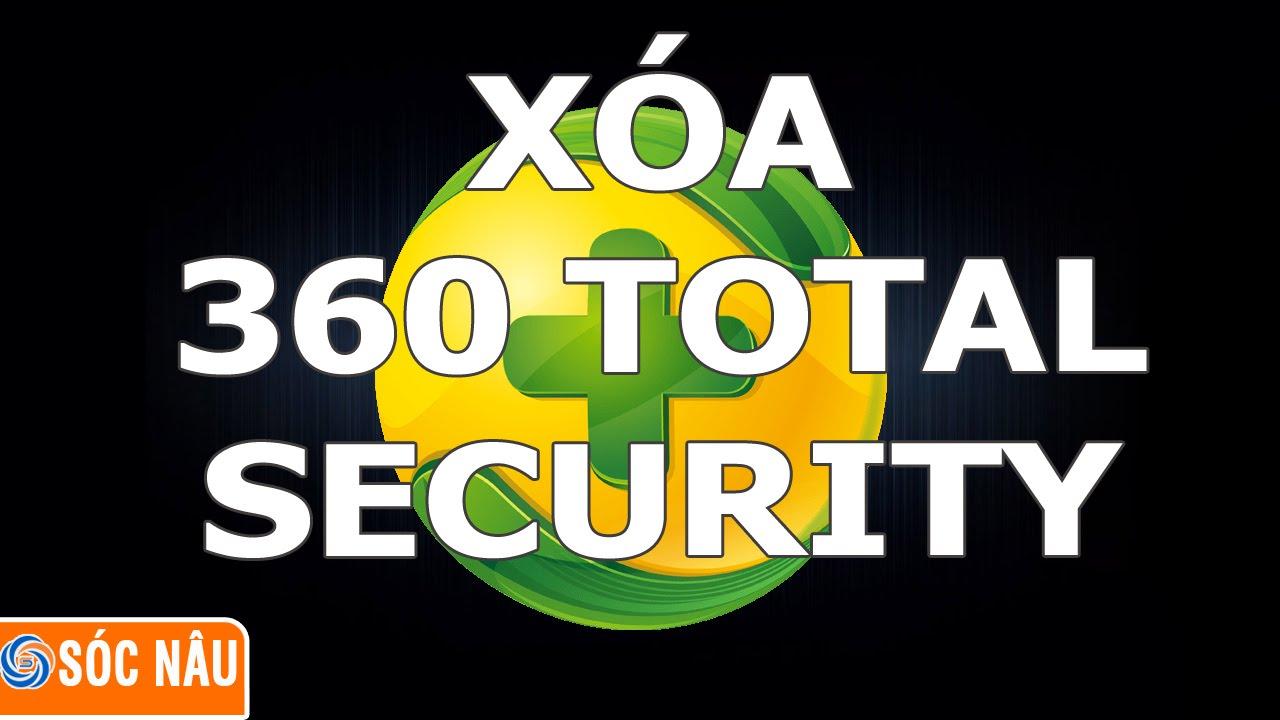 Gỡ cài đặt 360 Total Security